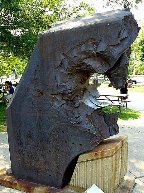 26-inch thick armor from Japanese Yamato class battleship