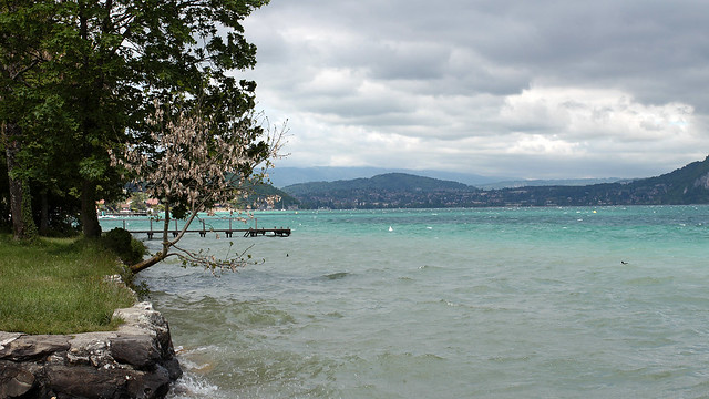 Biking Lake Annecy