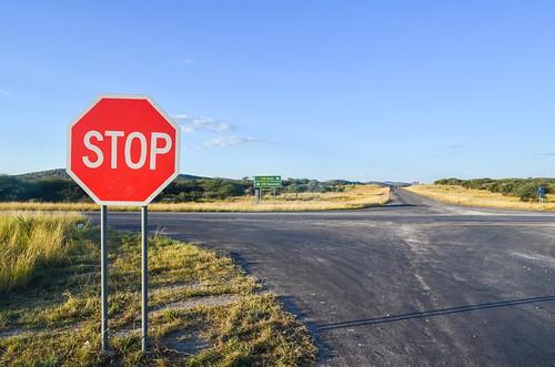 Outjo crossroads
