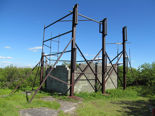 Transmitting station on Graham Mountain