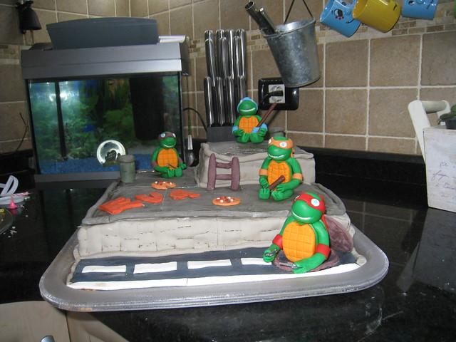 Tarta Eva - Tortugas Ninja