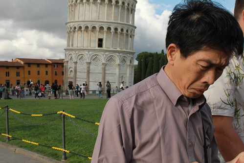 Leaning Tower of Pisa Tourist