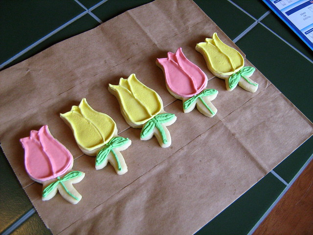 tulip cookies | Flickr - Photo Sharing!