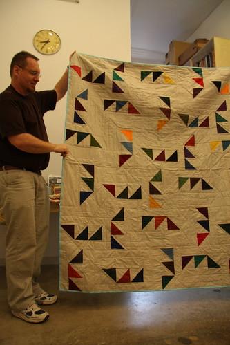 Paul's Kona Challenge quilt