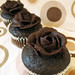 Vegan Chocolate Covered Rose Cupcakes by Sweet Elites Vegan Cupcakes