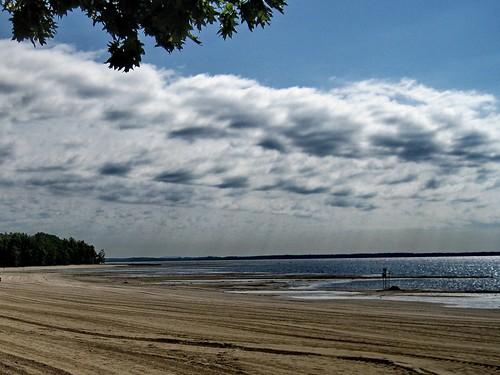 sun canada beach clouds quebec québec safe plage 2010 okapark parcdoka