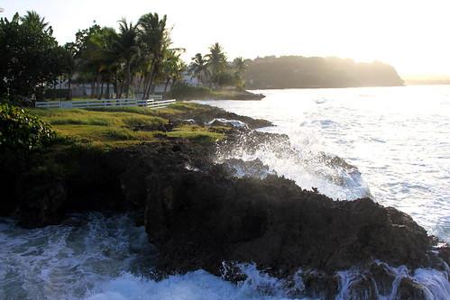 sea sun mer france west tom sunrise soleil grande dom atlantic terre francia rocher guadeloupe lever antilles indies atlantique caraibes gosier antillas