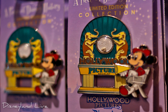 Hollywood Pictures Backlot Sign Pin