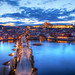 The blue sunset in Prague by Miroslav Petrasko (hdrshooter.com)