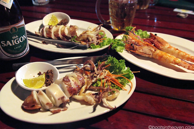 Some of Phú Quốc's amazing squid