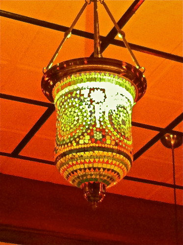 "Light at Indian Restaurant """"Karaikudi Chettinad"""