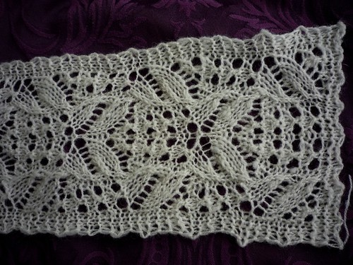 Lace from handspun