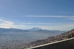 Última vista de La Paz
