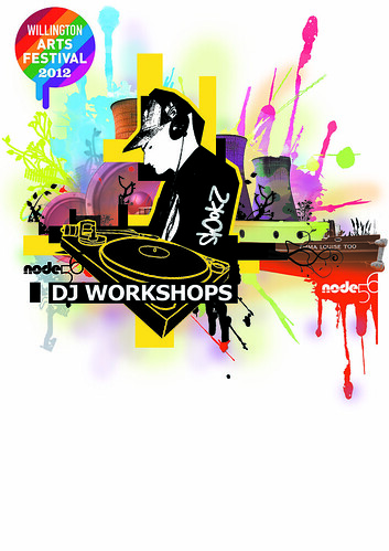Willington DJ Workshop Poster Feb 2012 by thedropinn