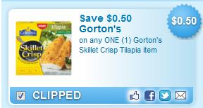 $0.50 Off One Gorton
