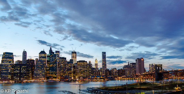 Manhattan - From Brooklyn Heights