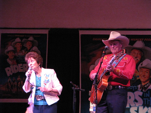 Ramona Reed with Ranger Doug, singing I Want to Be a Cowboys Sweetheart, MDB21806 by Michael Bates, on Flickr