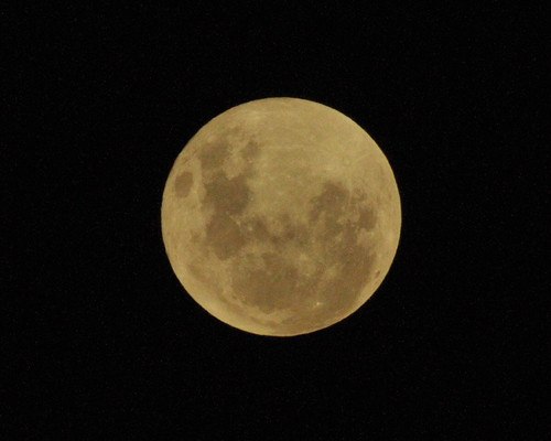 Supermoon, Southern Hempishere.