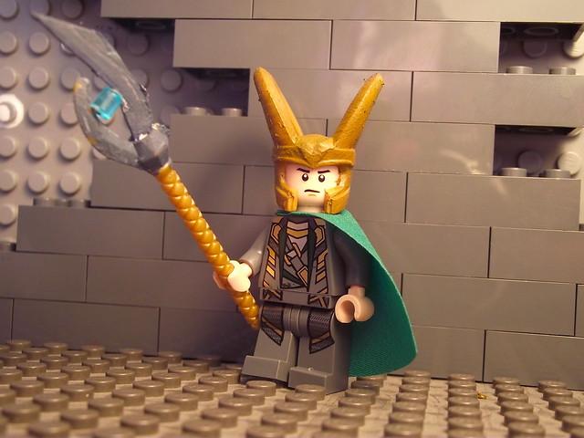 Lego Avengers : Loki   Flickr - Photo Sharing!
