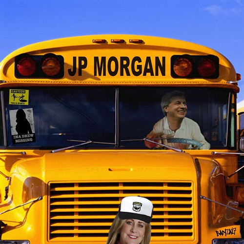 JP MORGAN BUS by Colonel Flick