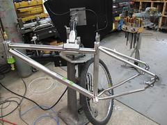 Weld bridge then onto the drop outs