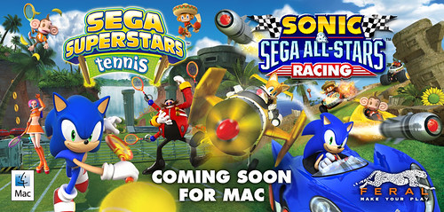 Sonic the Hedgehog and SEGA All-Stars are Coming to Mac!