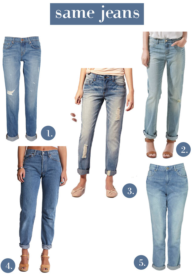 get the look baggy tapered 90s boyfriend jean