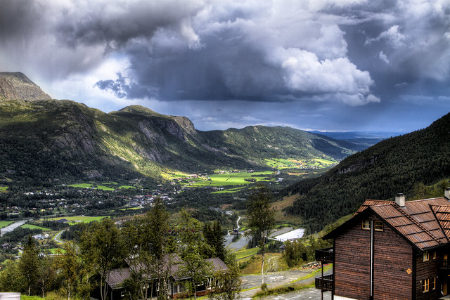 Hemsedal From Above
