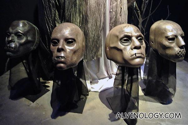 Various Voldemort's masks