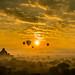 Sunrise at Bagan by wilsonchong888