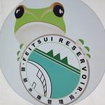 翡翠樹蛙模式標本即於翡翠水庫一帶採集,翡管處也已翡翠樹蛙為象徵。
