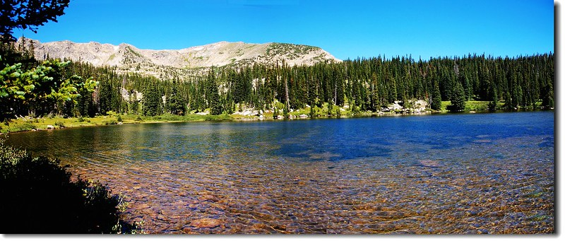 Panorama of Lower Forest Lake 1