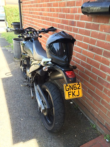 Smallest Legal Motorcycle Number Plate