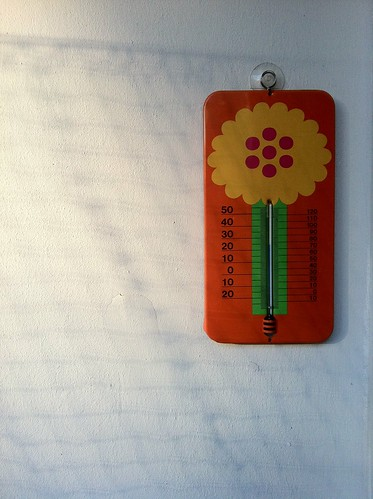 Berlin Flat: Vintage thermometer