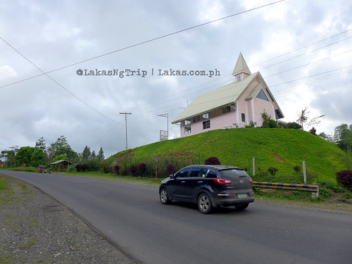 A scenice church near Lorega Quarantine. DDD Habitat Inc. at Lorega, Kitaotao, Bukidnon