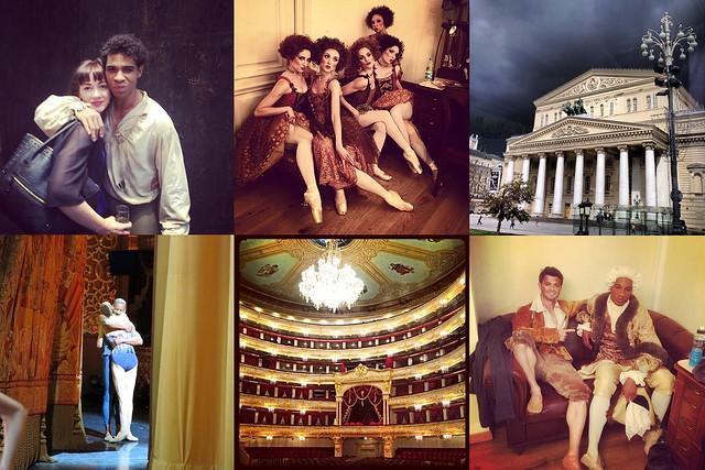 Dancers' photos from the 2014 Royal Ballet Tour © (From top left) Tierney Heap, Demelza Parish, Andrej Uspenski, Eric Underwood, Melissa Hamilton, Eric Underwood, 2014