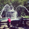 City Hall Park. Playing in the fountain and watching the squirrels. #newyorkwithluke