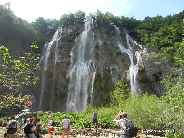 Водопад Veliki Slap в Плитвицком заповеднике