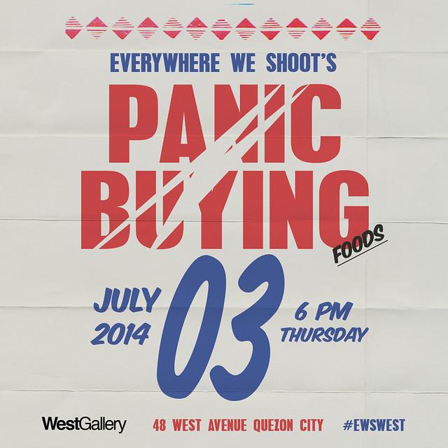 Panic buying poster
