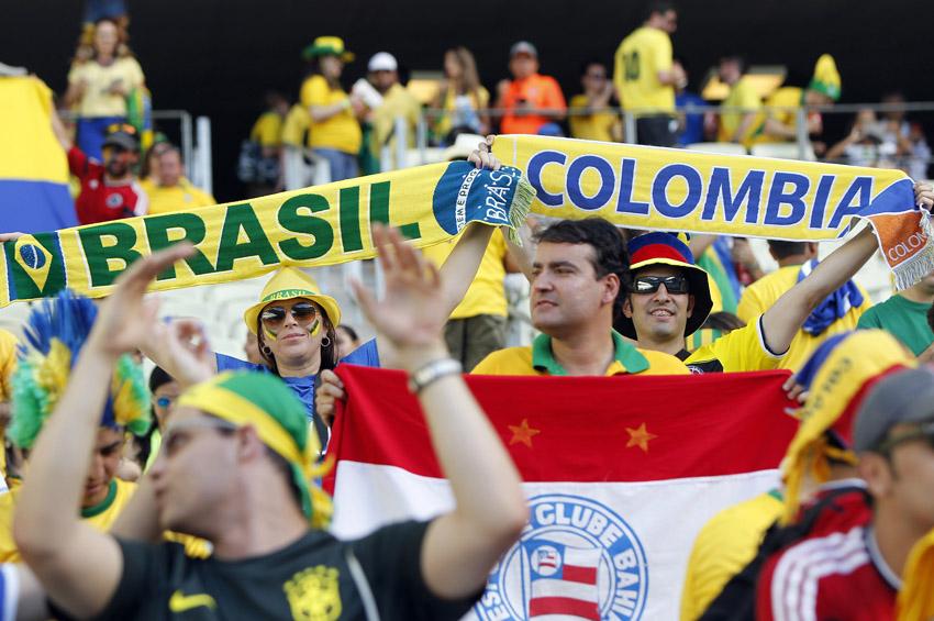 (43)BRASIL-FORTALEZA-MUNDIAL 2014-BRASIL VS COLOMBIA