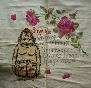 Embroidered Billiken 1908