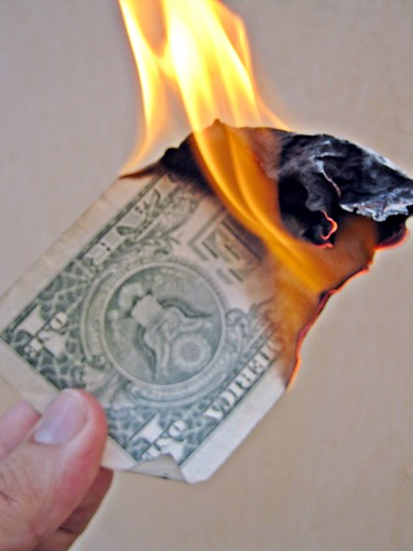 Burn Money