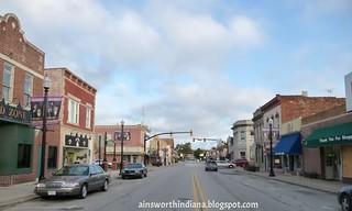 Main Street north to Third mid-block