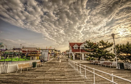 beach clouds photoshop nikon oceancity ocmd oceancitymaryland photomatix colorefex oceancityboardwalk d700 nikond700
