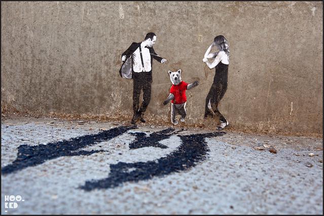 Pablo Delgado Miniature Street Art