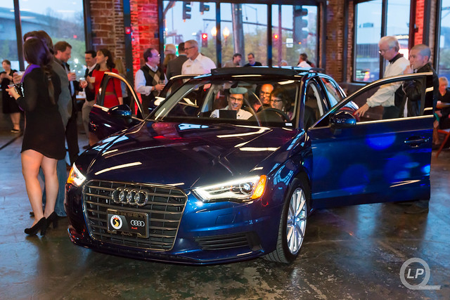 Scuba Blue Audi A3 at Sunset's Event