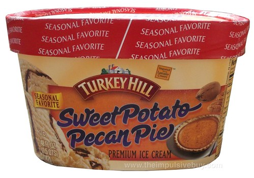 Turkey Hill Seasonal Favorite Sweet Potato Pecan Pie Ice Cream