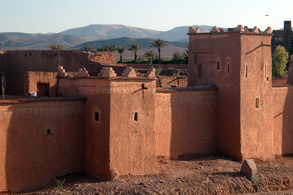Taourirt Kasbah, photo by Maureen, CC BY 2.0