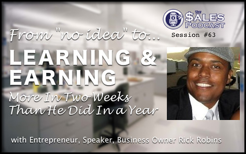 Entrepreneur Rick Robins shares how to grow your business by growing yourself.