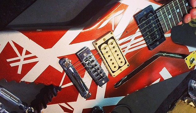 Van Halen Shark Guitar At 5150 April 2014 Facebook Cover Flickr